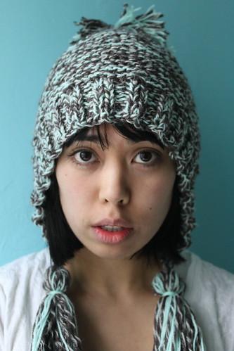 Winter Loves Spring Hat