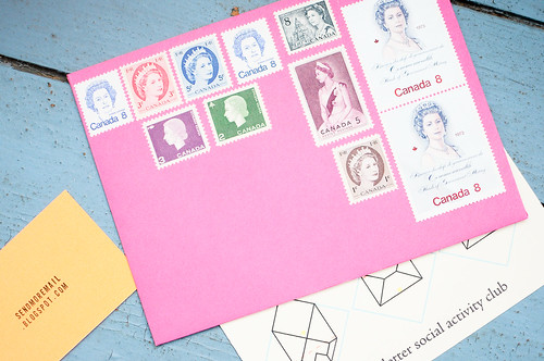 The Queen envelope from Send More Mail