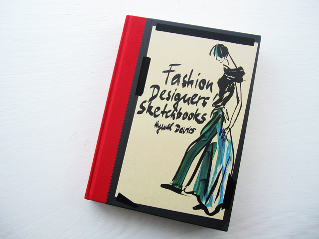 fashion designers sketchbooks front cover
