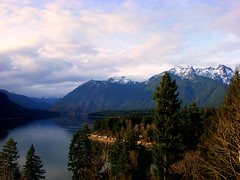 Purple Mountains (Detus) Tags: washington lakecushman olympicmountains