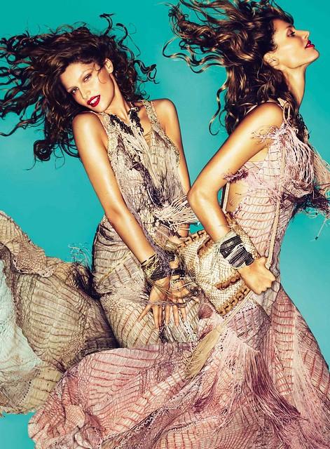 Roberto Cavalli spring 2011 diva bag campaign