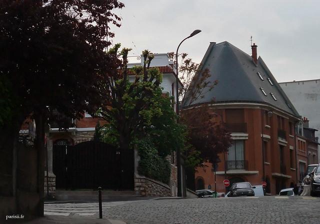 Un toit très pointu