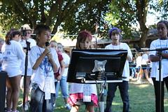 Karaoke at Bennett Valley Walkathon