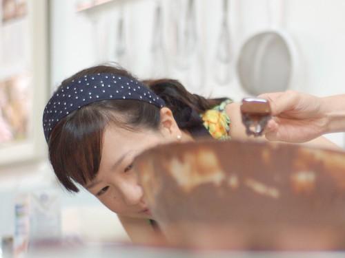 Fudges banhados em chocolate ao leite