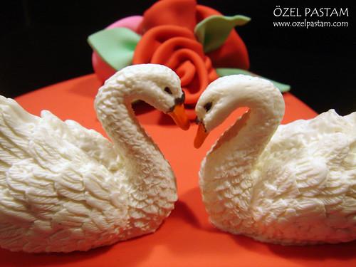 Kuğuların Aşkı Pastası