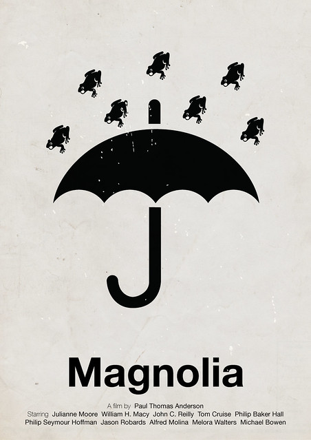 'Magnolia' pictogram movie poster