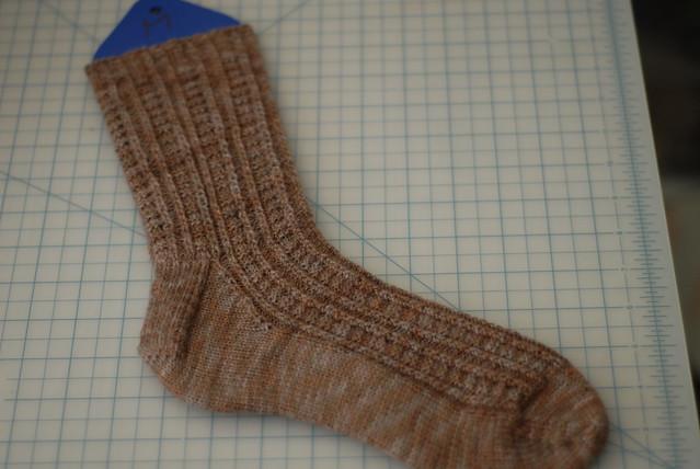 retro rib socks - 1 complete!