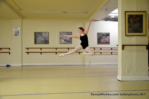 Hannah jumps
