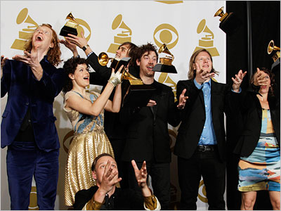 Arcade Fire wins Grammy