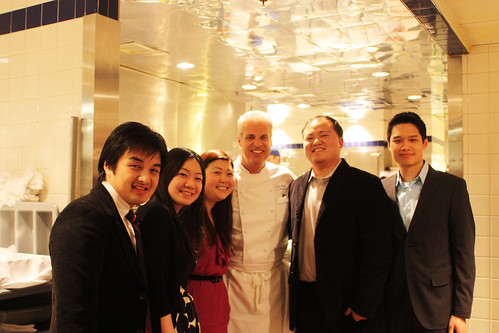 Group Picture with Chef Ripert