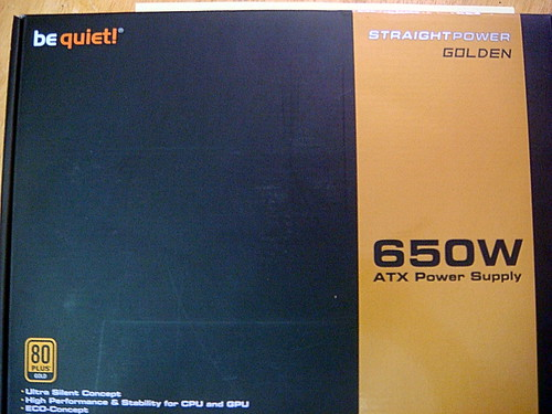 Be Quiet! E7 SP Golden 650w