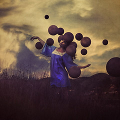 the art of wondering (brookeshaden) Tags: sky mountain wonder surrealism brookeshaden texturebylesbrumes