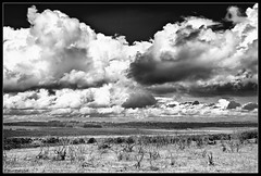 barren landscape (Mark With (Away for a bit)) Tags: bw nikon hdr 2470f28 d700