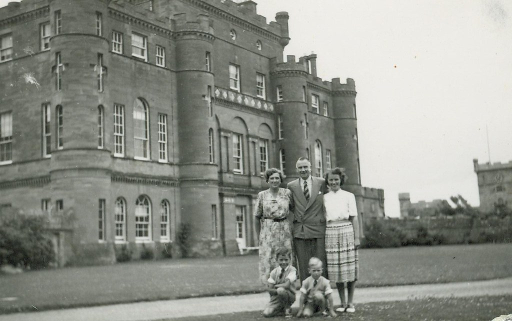 Douglas McCreath Culzean Castle 1952