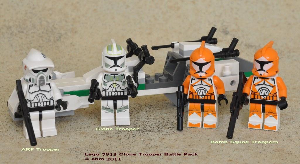 Star Wars Lego 7913 Clone Trooper Battle Pack