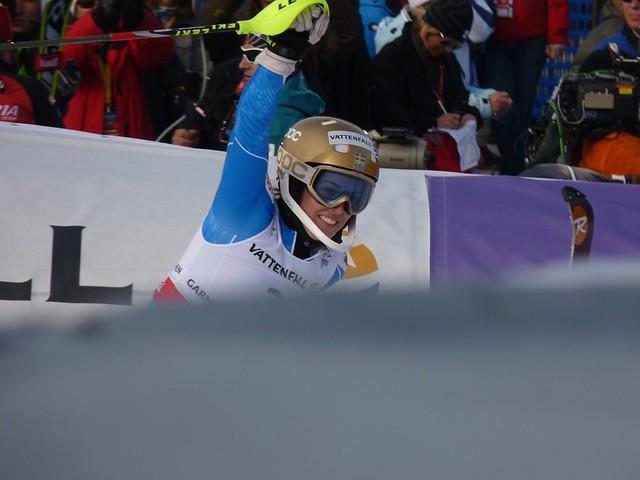 Maria Pietilae-Holmner - Slalom der Damen - Ski-WM 2011