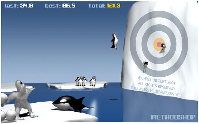 Penguin Yeti Game