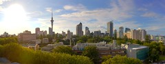 Auckland City Sunset (Andrew D Farquharson) Tags: panorama hdr hugin