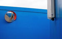 Corner (Jordan Gamet) Tags: blue london mirror nikon stadium games jo londres olympics nikkor stratford 2012 olympiques d300s