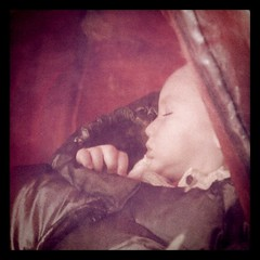 Bonus 365 - Sleeping Baby About Town
