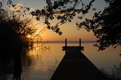 Isla Ometepe, Nicaragua. (Sky and Yak) Tags: sunset sky lake colour nature water swim dusk jetty nicaragua nico isla centralamerica ometepe lakenicaragua lagodenicaragua lakecocibolca mardulce laomaja