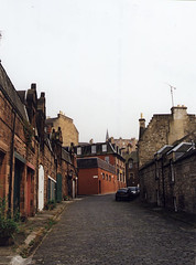 View From Mews Prior to Development