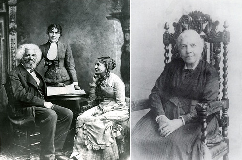 Image result for frederick douglass ... photo with wife helen