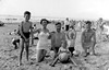McCreath Family on the beach 1956