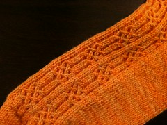 sunshine sock: detail