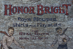 Boy's Blouses.... for REAL boys (DetroitDerek Photography ( ALL RIGHTS RESERVED )) Tags: usa color men brick boys shirt america kid midwest dress michigan painted ad detroit advertisement clothes faded weathered highlandpark 1922 ghostsign roaringtwenties 313 blouses 1898 motown reliance honorbright reliancemanufacturing miltongoodman