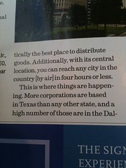 Spirit Magazine Article about Dallas