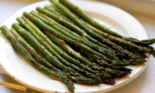 my roasted asparagus