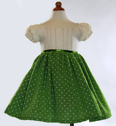 Fancy Green Party Dress Toddler Baby Pageant Easter