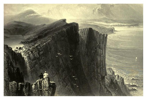 004-Fairhead-The scenery and antiquities of Ireland -Vol I-1842-W. H. Bartlett
