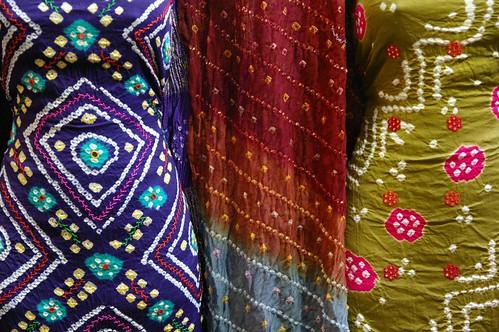 Mandvi - tie dye work