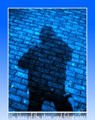 The blues of the stone aged fotographer (jefpics) Tags: blue light nacht fantasy breathtaking deskart 2010 jefpics turnhout beautifulphoto nachtopname masterphotos photoshopalbum panasonicdmcg1