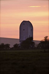 Kingston Windmill at Sunset (GFry Photography) Tags: sunset orange colour nature windmill downs landscape sussex lewes gfryphotography
