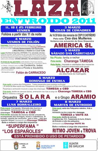 Laza 2011 - Entroido de Laza - programa