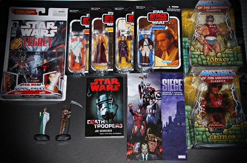 March '11 feeble haul...*geek mode*!