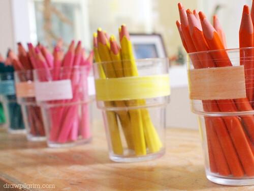 kindergarten pencils