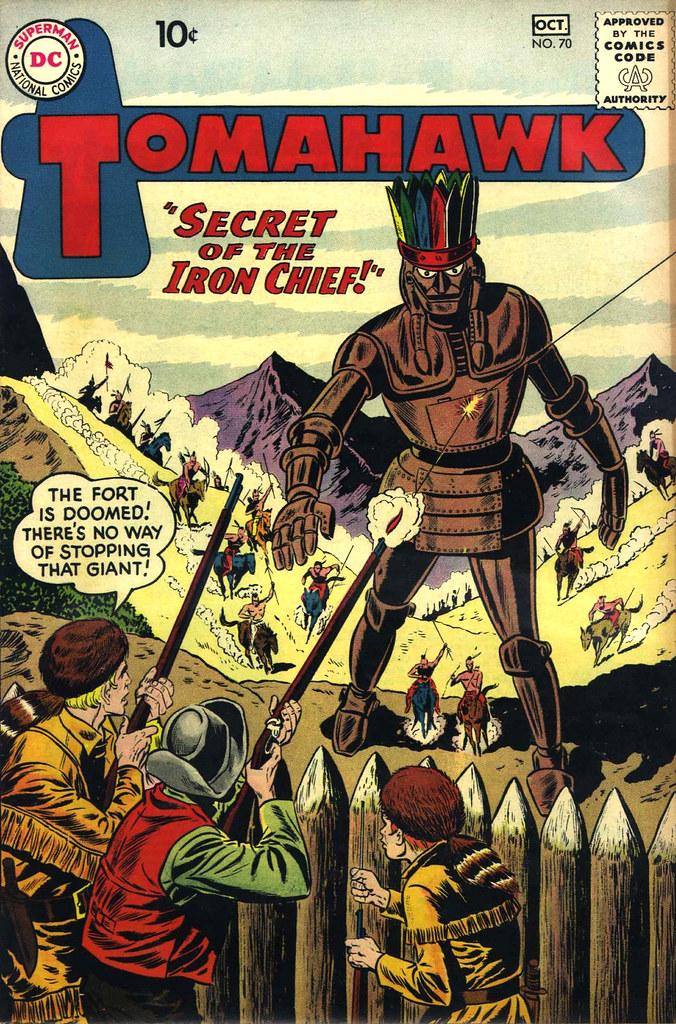 Tomahawk #70 (DC, 1960)