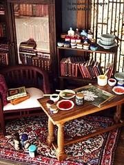 library (studio soo) Tags: miniature dollhouse