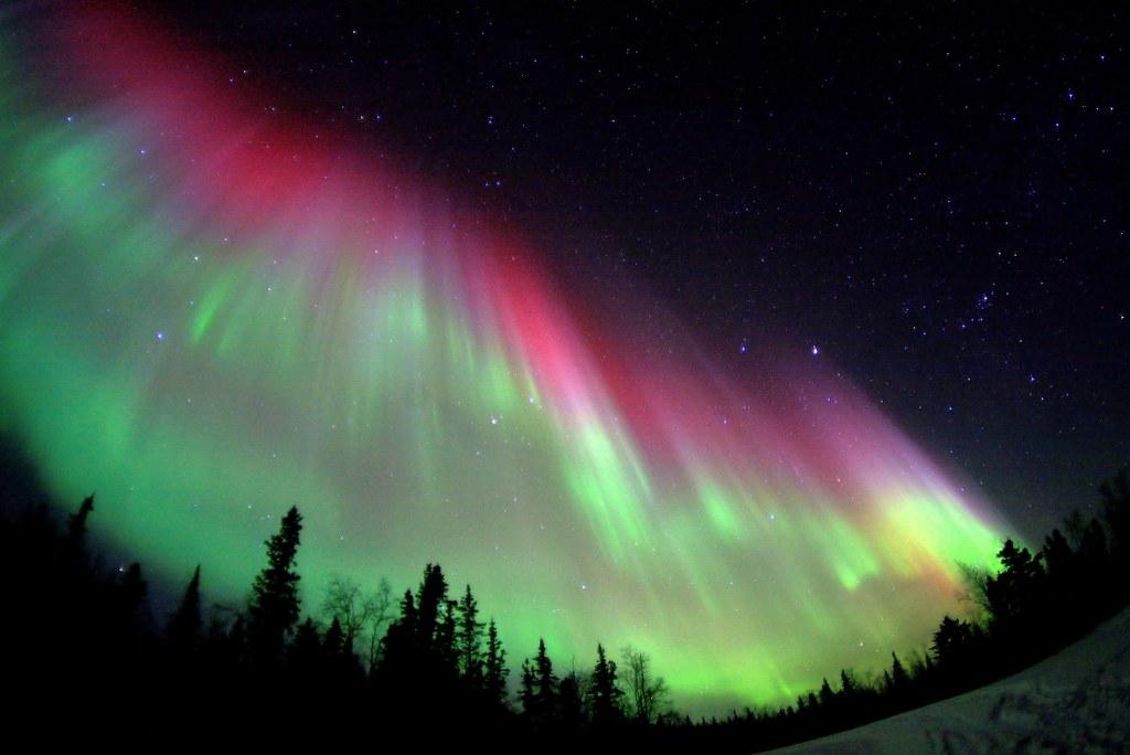 Powerful Auroral Storm