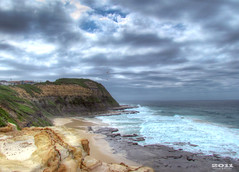 (Ra) Tags: sea sky beach clouds newcastle landscape australia doublyniceshot dblringexcellence tplringexcellence