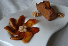 Walnut cakes and caramelised apple [1] (mykitchendiaries) Tags: food cakes dessert walnut appel sweets bites