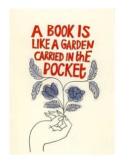 A book is like a garden by Matou en Peluche
