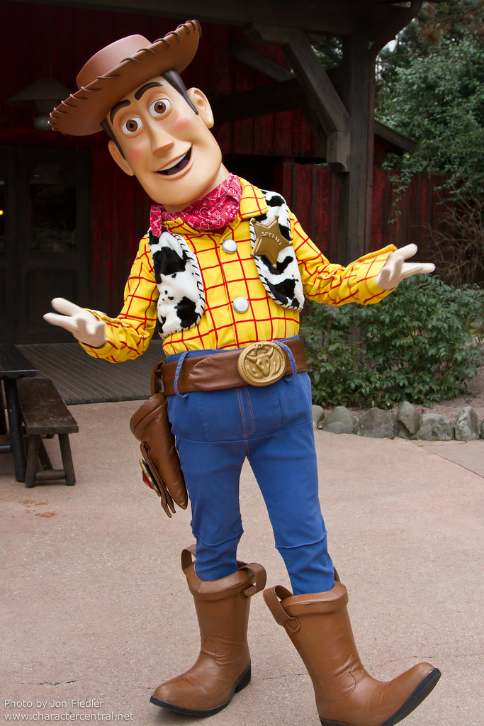 Woody At Disney Character Central