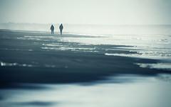 Ecume (sparth) Tags: beach fog washington sand october moody foggy silhouettes windy foam olympics peninsula brouillard 56 2010 ecume 300mm28l 600mm 5dmkii