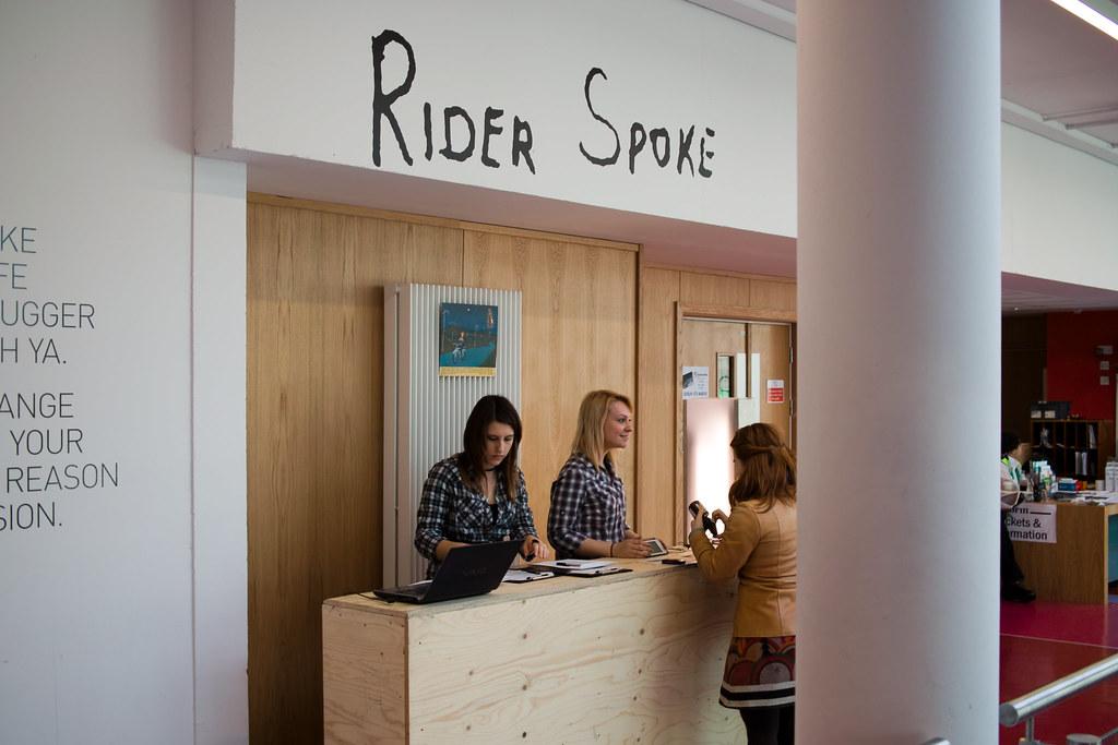 Rider Spoke Falmouth University