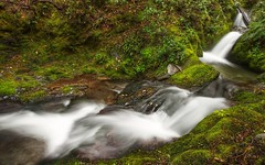 The Placid Cascade (Eden Brackstone) Tags: longexposure newzealand canon river waterfall wideangle 7d queenstown hdr highdynamicrange gmt sigma1020mm photomatix